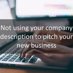 How to write a proper company description and elevator pitch